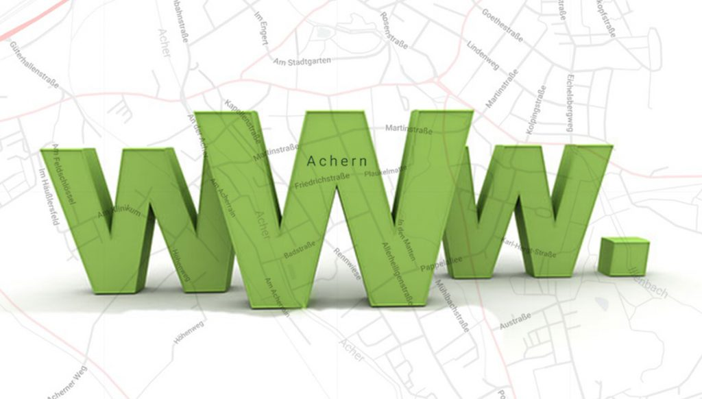 Homepage erstellen Achern